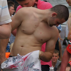 Yes, more... (CharlesFred) Tags: shirtless england lads surrey epsom thederby ladz epsomdowns englishlads