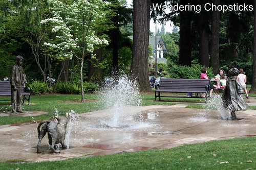 8 Beverly Cleary Sculpture Garden - Grant Park - Portland - Oregon 1
