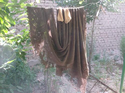 Dushanbe Tajikistan Orenburg Russian knitted lace shawl