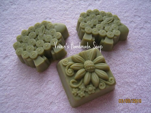 秋日沐浴牛奶皂(艾草)_Art