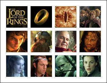 free The Lord of the Rings slot game symbols