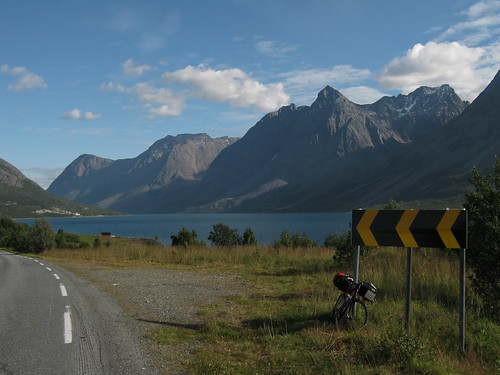 Lyngen alps and bike