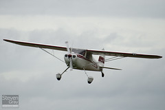 G-BTBW - 14220 - Private - Cessna 120 - Little Gransden - 100829 - Steven Gray - IMG_2933