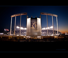 Kauffman Stadium (Old One Eye) Tags: home sports field ball major baseball stadium professional kansascity missouri kansas kc complex base ballpark league truman mlb royals kansascityroyals kauffmanstadium allstargame kauffman jacksoncounty royalsstadium trumansportscomplex allstargame2012