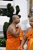 Young Monks Wat Pho, Bangkok,