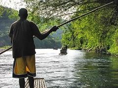 River Rafting (Oldt1mer - Keith) Tags: holiday river bamboo rafting jamaica raft riogrande riverrafting tripleniceshot mygearandmepremium mygearandmebronze