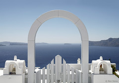 Just Relax (Ben Heine) Tags: ocean door travel summer wallpaper color art fog architecture fence island photography freedom seaside high focus whitewalls gate energy alone arch village altitude famous horizon arcade entrance peaceful bluesky poetic symmetry bleu santorini greece doorway libert enjoy simplicity series access dreamy porte abstraction archway t copyrights simple volcanicisland pure grce depth brouillard minimalist oia doorstep paradis faade cyclades brume entre vibration waterscape clich vrijheid barrire aegeansea theartistery paisible puret justrelax merege creativecomposition benheine samsungnx10 benheinecom