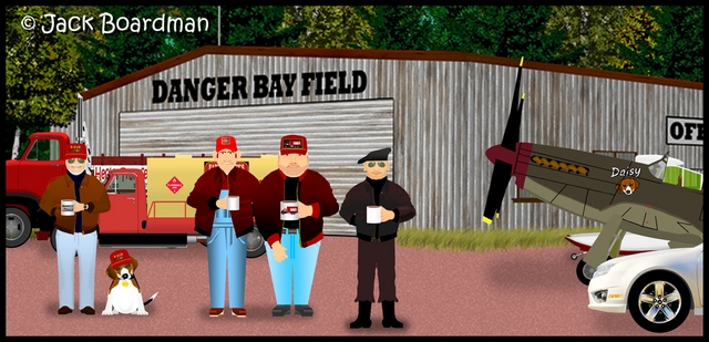 Meeting at Danger Bay Field