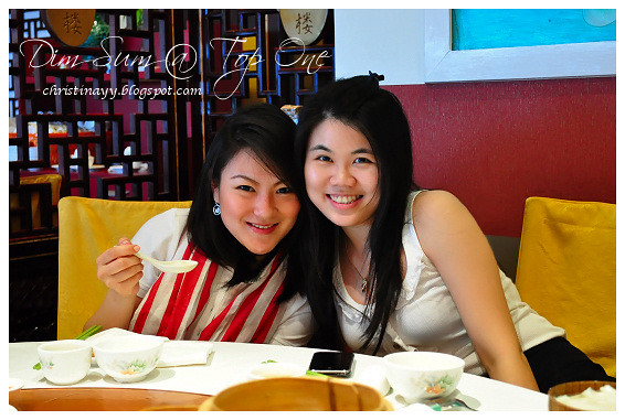 Top One Seafood Restaurant: Cynthia and Me