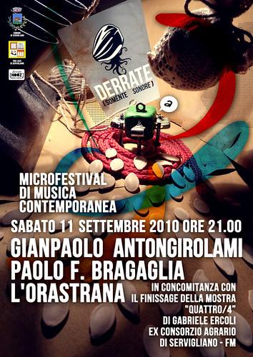 Derrate - microfestival di musica contemporanea