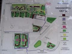 Paddington Green Estate map, W2 (J@ck!) Tags: london paddington w2 socialhousing cityofwestminster estatemap estatetypography paddingtongreenestate