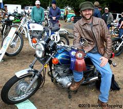 409 1981 Honda Twinstar CM200T (Monica Topping) Tags: show vintage honda ninja bikes swap harleydavidson triumph bmw motorcycle yamaha hd motoguzzi kawasaki puch hummel bsa matchless husqvarna kennyroberts motobi bultaco vintagemotorcycles