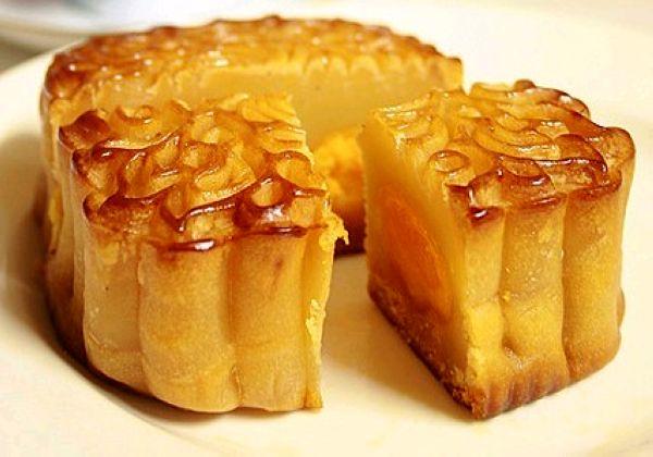 月饼-蛋黄莲蓉