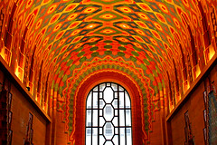 Guardian Building Lobby, Detroit (stormdog42) Tags: urban architecture michigan interior detroit lobby nativeamerican artdeco 1928 20s guardianbuilding wirtcrowland
