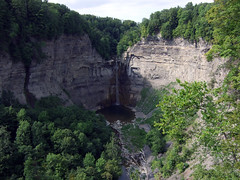 Taughannock Falls, late summer