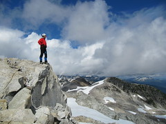 i love mountains.. (iwona_kellie) Tags: friends summer snow canada rock britishcolumbia anniversary rocky glacier celebration summit scramble cypresspeak iwonakellie roecreek squamishcheakamusdivide 2083meters returnafter4years