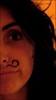moustache (Natzenk) Tags: orange black hot eye me girl face mouth hair nose ada nice women moustache sexys
