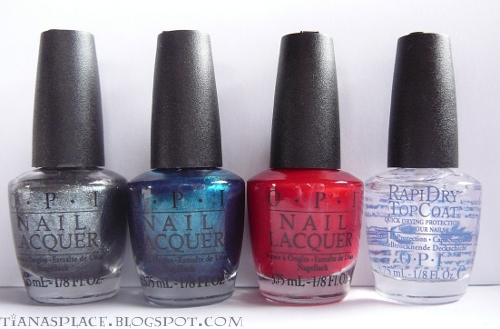 OPI Swiss collection minis #3
