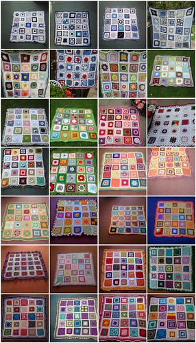 Our 28 SIBOLS! 700 Squares from SIBOLETTES all over the World! Thank You!