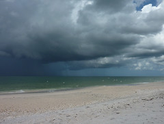 Gulf of Mexico rainy season (ashabot) Tags: clouds florida beaches