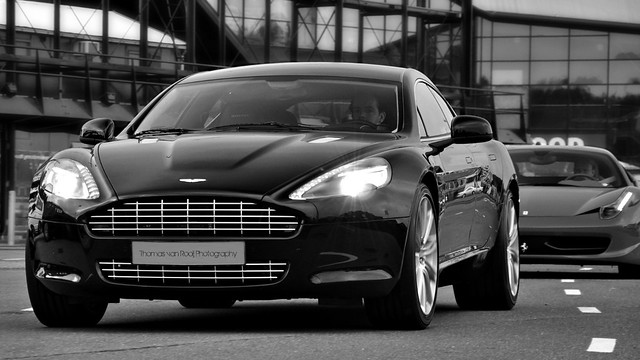 lighting street city light bw italy white black reflection beautiful car contrast dark photography design amazing cool italian rotterdam nikon thomas awesome curves great style automotive ferrari front led event exotic headlight grille nikkor executive luxury coupe rolling v8 vr astonmartin ahoy sportscar 2010 combo v12 db9 18105 60l prestige carbonfibre rapide d90 rooij maartenmemorial powerbeautysoul ferrari458italia thomasvanrooij