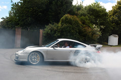 GT2RS Smoking. (Alex Penfold) Tags: cars alex sports car canon photography photo cool image awesome picture fast super exotic photograph porsche burnout rs supercar gt2 exotica 2010 penfold 450d hpyer gt2rs