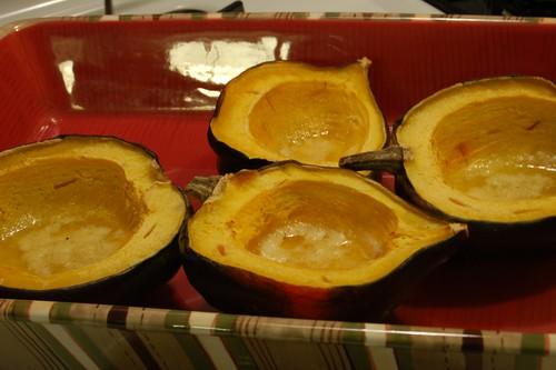 251/365: Roasted Acorn Squash