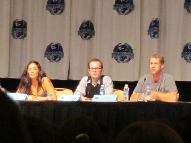 Eureka Panel with Erica Cerra (Jo Lupo), Neil Grayston (Fargo), Colin Ferguson (Sheriff Carter)