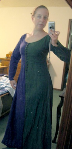 Parti-Colored Kirtle Of Doom! (Almost Finished!)
