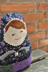 Matrioska (Mariana Blanco) Tags: doll crafts babushka matrioska mueca tela manualidad