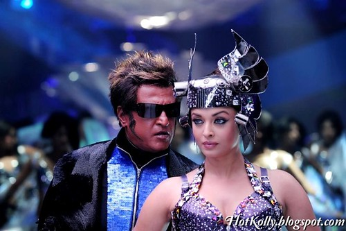 Super Star Rajinikanth Aishwarya Rai Enthiran Tamil Movie Stills Images Photos Gallery Robot (6)