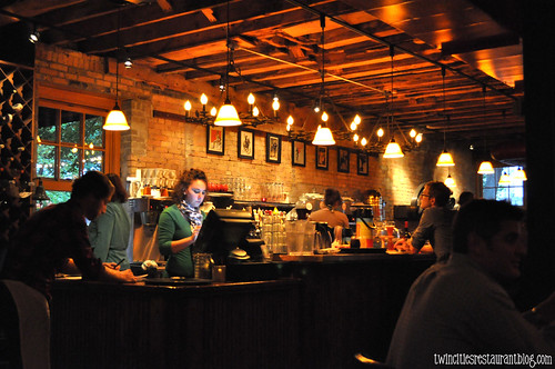 Bar at Aster Cafe ~ Minneapolis, MN