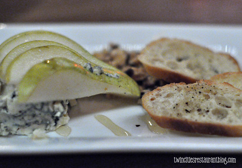 Bleu Cheese Pear Plate at Aster Cafe