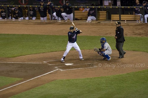 mauer at bat