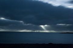 Ray of Light (Harpa Hrund) Tags: ocean sea sky clouds diy doityourself homemadefilter ndfilter grtta weldingglass fndur 10stops weldingglassfilter homemadendfilter heimatilbinnfilter suugler rafsuugler 10din