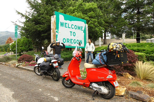 Oregon Border Crossing
