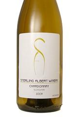 2009 Sterling Albert Winery Sonoma Chardonnay
