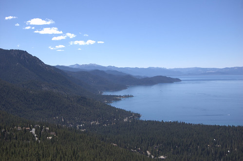 La rive Ouest de Lake Tahoe