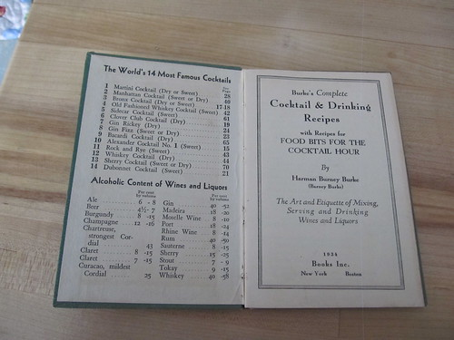 1934 cocktail book