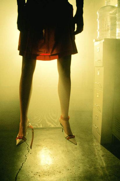 Melanie Pullen, Half Prada (Hanging Series)