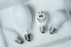 His 'brightest' idea! (RєRє) Tags: light food white playing silly face goofy bulb ink fun with emotion egg humor cartoon explore eggs bulbs drawn frontpage oval huevo ei lampada ohyeah oeuf ovo playingwithfood ovos yumurta hesback eggbert lampadas theeggventures ofeggbert eggbertlamps brincandocomacomidablog