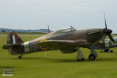 G-HURI - Z5140 - 72036 - Private - Hawker Hurricane Mk12A - Duxford - 100905 - Steven Gray - IMG_5949