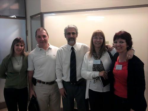 Juez Dr. Strassorier y Dra. Bruno con integrantes de CPP
