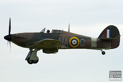 G-HURI - Z5140 - 72036 - Private - Hawker Hurricane Mk12A - Duxford - 100905 - Steven Gray - IMG_7369