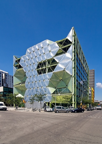 Media-TIC Building, 22@, Barcelona, Spain