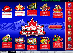 Maple Casino Lobby