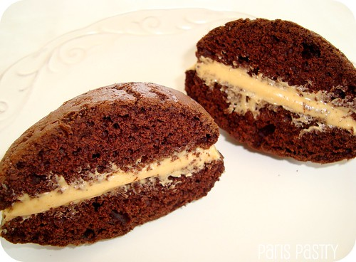 Chocolate - Peanut Butter Whoopie Pie