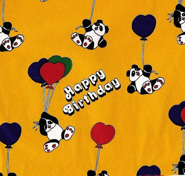 birthday pandas