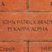 JOHN PATRICK BRADY PI KAPPA ALPHA