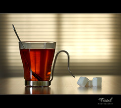 Rest Time.. (Faisal | Photography) Tags: life macro canon eos still time tea unique style 100mm sugar explore refraction rest usm frontpage f28 ef 50d canonef100mmf28macrousm canoneos50d canon580exii faisal|photography فيصلالعلي